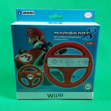 Mario Kart 8 Wii U Wheel Red Hori Controller Attachment Accessory NEW Sealed!