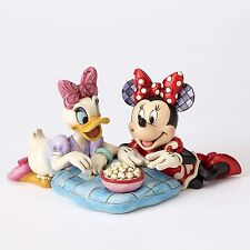 Disney Traditions Girls Night Ornament Minnie Mouse & Daisy Duck Resin Figurine
