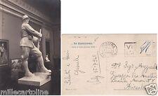 """# """"LA QUADRIENNALE"""" SALON D'ARTE ITALIANA 1923 - """"IL FANTE"""" di G.B. ALLOATI"""