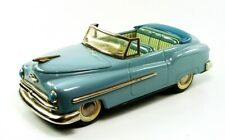 "1951 Plymouth Convertible 9""  (22.9 cm) Battery Op Japanese Tin Car by Masudaya"
