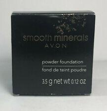 Avon Smooth Minerals Powder Foundation Bronze Women/Jrs Discontinued Full Sz New