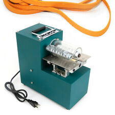 40W Leather Strip Cutting Machine Leather/Bags/Shoes/Paper Slitter Cutter Top