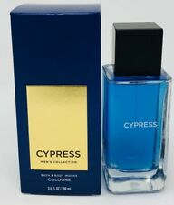 NEW BATH & BODY WORKS CYPRESS MEN'S COLLECTION COLOGNE BODY SPRAY MIST 3.4 OZ