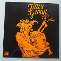 Titus Groan - Plus Vinyle LP GB 1989 Réédition 2 Chansons Extras Rare Prog
