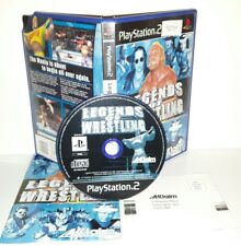 LEGEND OF WRESTLING WWE LOTTA - Ps2 Playstation Play Station 2 Gioco Game