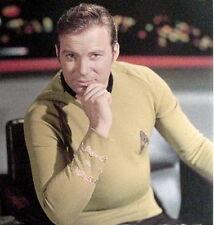 Star Trek TOS Starfleet Officer Duty Male Shirt Uniform Pattern-Multiple Sizes