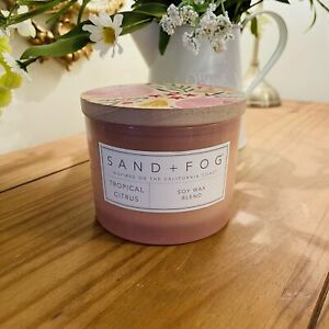 Tropical Citrus - SAND AND FOG Candle
