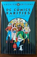 DC Comics Rarities Archives Volume 1 Golden Age reprints, JSA, Batman, Superman