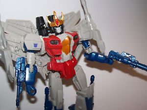 Transformers Generations Combiner Wars Starscream Leader Figure & Accessories