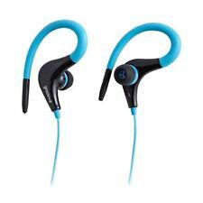 Groov-e GVEB12 Ultra Light Sports Clip On Headphones Seat Resistant Blue - New