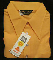 NEW! John Blair Menswear Sport Classics Orange Polo Golf Sport Mens XL Casual