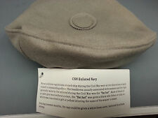 CIVIL WAR CSN ENLISTED NAVY SAILOR HAT SIZE SMALL  FLAT HAT Wholesale Lot of 10