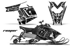 Sled Graphics Kit Decal Sticker Wrap For Polaris Pro RMK Rush 11-16 REAPER BLACK
