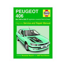 [3982] Peugeot 406 1.8 2.0 Petrol 2.0 2.2 Diesel 99-02 (T to 52 Reg) Haynes Manu