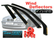 BMW 3 E46 1998 - 2006 SALOON / SEDAN  Wind deflectors 4.pc  HEKO  11121