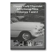 Vintage 30s-50's Chevy Promo Films Complete 4 DVD Set - A29-32