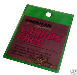 Drennan Carbon Chub Haken Größe 24