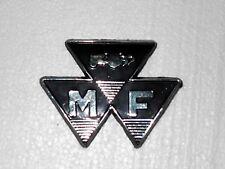 NEW FRONT BLACK MOTIF BADGE MASSEY FERGUSON 35 FE35 TRACTOR