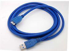 usb3.0 PC Charger +Data SYNC Cable CordFor EMC Iomega eGo1TB 35056 Hard Drive