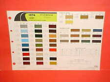 1976 CHRYSLER CORDOBA PLYMOUTH SCAMP DUSTER DODGE CHARGER SE DART PAINT CHIPS 76