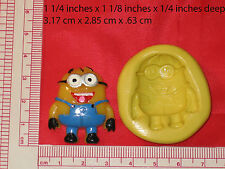 Desplicable Character Silicone Mold #23 For Chocolate Candy Resin Fimo Soap Fimo