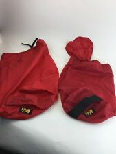 Two REI Red USA Bag Carrier Carry Sack Stuff to Make Pillow Camp Hike
