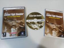 COMBAT FLIGHT SIMULATOR SERIE EUROPEA II GUERRA MUNDIAL JUEGO PC CD-ROM
