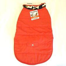 Simply Dog Large Reversible Winter Jacket Orange & Camo Ships Free! NWT