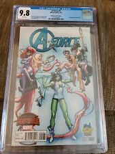 A-force 1 CGC 9.8 Midtown Comics Edition 1st appearance of Singularity