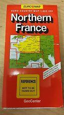 Northern France: GeoCenter Map (M13)