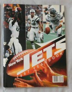 1987 New York Jets Yearbook