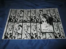 HARLEY QUINN/SUICIDE SQUAD Signed Art Print by Inker Rob Hunter ~DC Comics 52