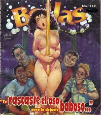 BELLAS DE NOCHE mexican comic AWESOME SEXY GIRLS, SPICY #112