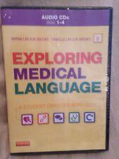 NEW! Exploring Medical Language by Danielle & Myrna LaFleur Brooks 4 CD SET! F4