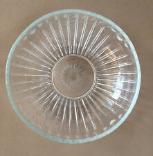E. O. Brody clear pattern glass Bowl dish, vintage collectible Cleveland Oh C932