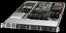 1U Supermicro 6 bay Server Mining 2 GPU SLOT 1017GR-TF Xeon E5-2620 V2 64GB Ram