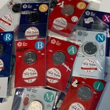 More details for 2018 10p coin alphabet letters a-z great british hunt brilliant uncirculated set