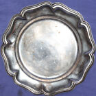 Vintage silver plated plate
