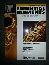 Hal Leonard Essential Elements For Band Interactive Eb Alto Saxophone Book 1