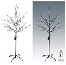 1.5M/5FT Warm White Pre-Lit Illuminated Cherry Blossom Tree with 96 LED Lights
