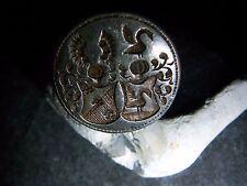 Adels-Siegel-Ring-Schwäne-Doppel-Allianz-Wappen-zwei-Schilder-900-Silber