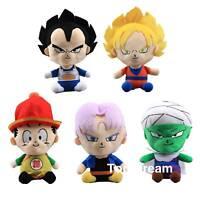 Anime Dragon Ball Z Characters Son Goku Piccolo Vegeta Plush Toys Stuffed Dolls