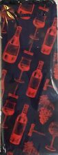 4-DELUXE WINE GIFT BAGS W/TAGS~Red Blue ALL OCCASION GIFT GIVING