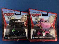 2012 DISNEY PIXAR CARS 2 ALEXANDER HUGO - PARTY HAT & MARY ESGOCAR