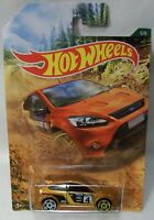NEW 2019 HOT WHEELS 1/64 RALLY SPORT SERIES 5/6 2009 FORD FOCUS RS OFF ROAD CAR!