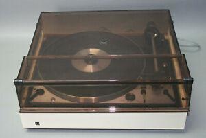 funktionst. Dual Plattenspieler 1229 CS 40 Zarge + Shure DM 103 M-E Tonabnehmer