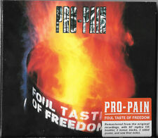 Pro-Pain placcaggio falloso tasto of Freedom (+2 bonus track) CD 1992 LIMITED EDITION DIGIPAK