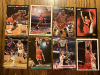 Chicago Bulls 1990-2000s 20 Card Lot Michael Jordan Scottie Pippen HOF Rookies