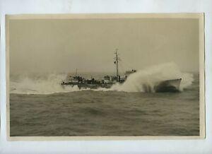 Royal Navy Escort / Patrol Vessel - 1941 WW2 Press Photo
