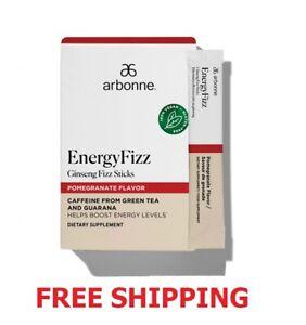 Arbonne EnergyFizz Ginseng Fizz Sticks - Pomegranate Flavor - FREE SHIP